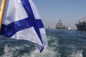 Андреевский флаг - знамя Военно-морского флота