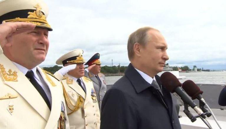 Президент Российской Федерации на Дне ВМФ