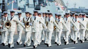 Парад на День Военно-морского флота