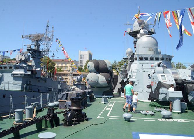 День открытых дверей на кораблях ВМФ