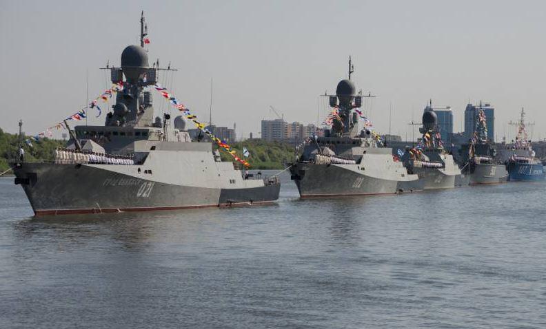 Каспийская флотилия России