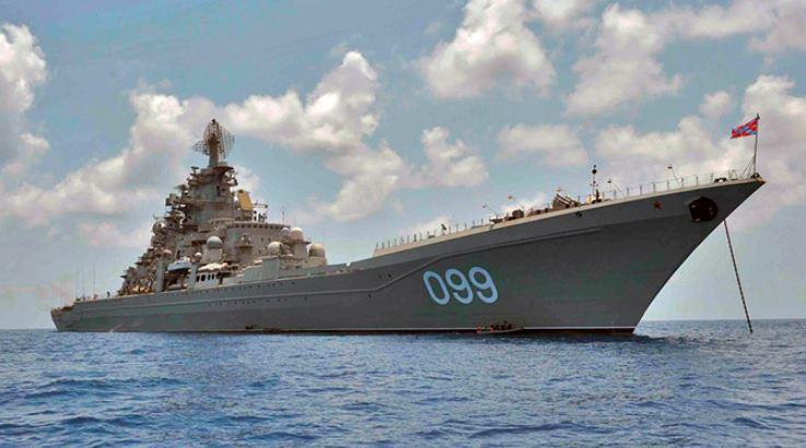 """Тяжёлый атомный ракетный крейсер """"Пётр Великий"""""""